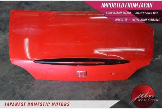 Jdm Honda S2000 Ap1 Rear Trunk Boot Lid OEM Red 99 00 01 02 03 F20C S2K