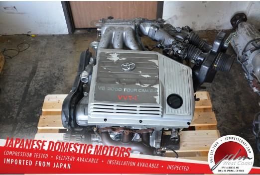 JDM 99-03 LEXUS RX300 Toyota Highlander ENGINE VVTI V6 3.0L 1MZ 2WD SIENNA