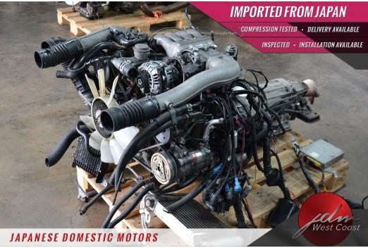 Jdm Mazda 13b Cosmo 13BRE FD3S Twin Turbo 1.3L Rotary Engine Auto ECU Complete