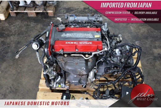 JDM 4G63 Mitsubishi Lancer Evolution 5-6 2.0L DOHC Turbo Engine EVO 6
