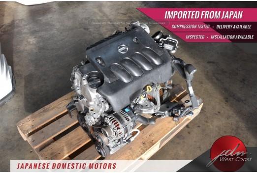Jdm Nissan Sentra Engine 2007-2012 Mr20de 2.0L Dohc 4cyl 16valve MR20