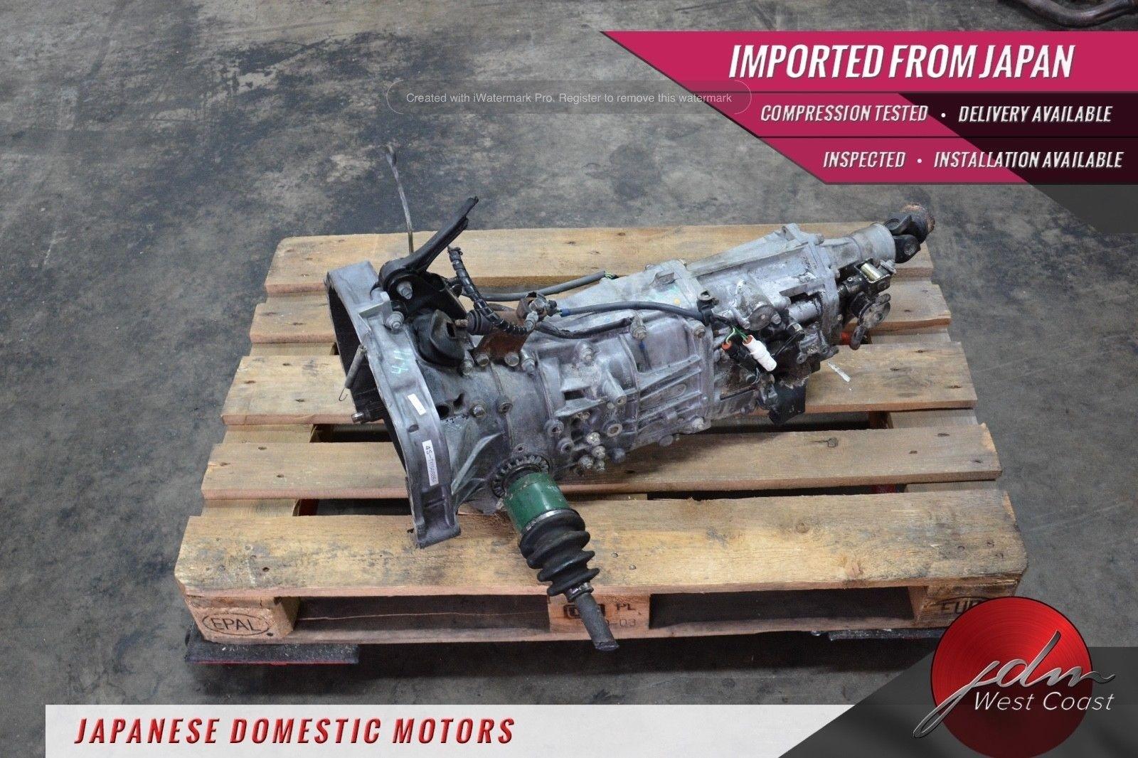 Jdm Subaru Impreza WRX AWD 5spd Manual Trans *4.11* TY754VBBBA EJ205 2002-2005