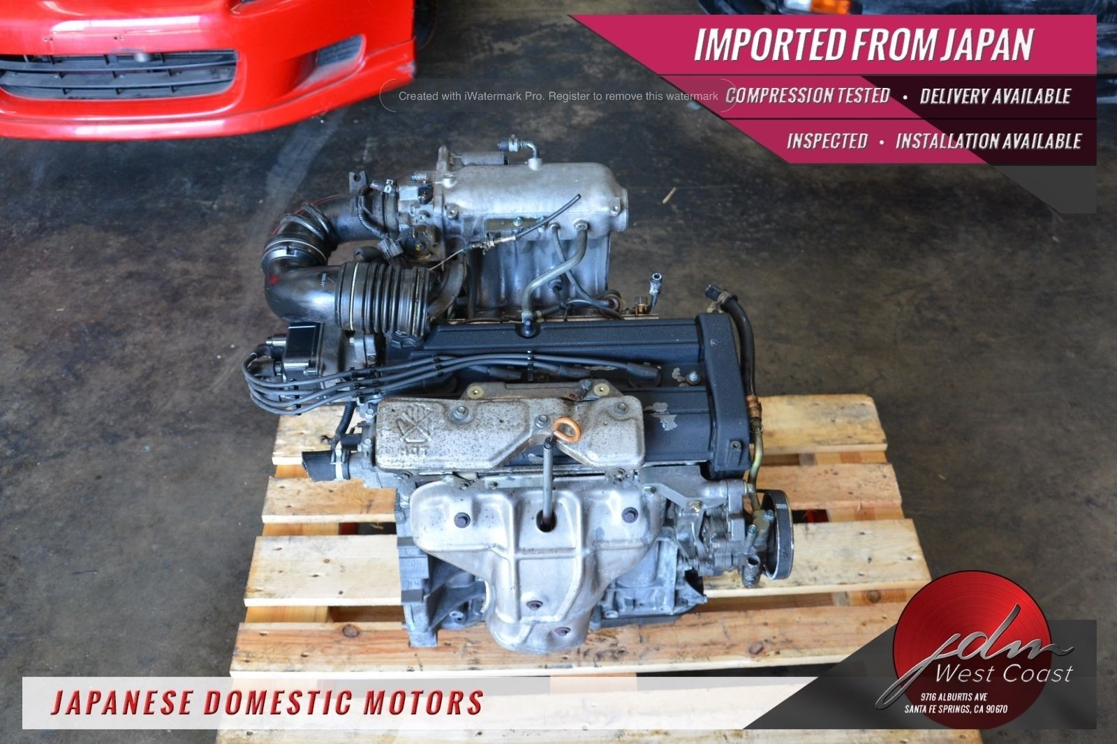 Jdm B20B Honda Cr V Engine P8R B20 99 01 Low Comp 20 Dohc Integra