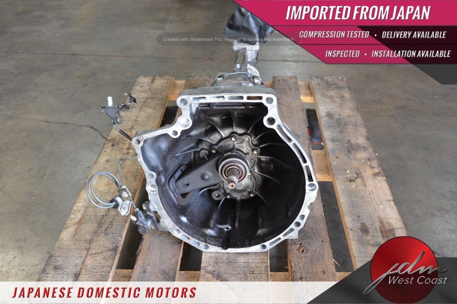 Jdm Mazda Rx8 13B 6port 03-08 Renesis 1 3L Rotary Engine 6spd MT Ecu