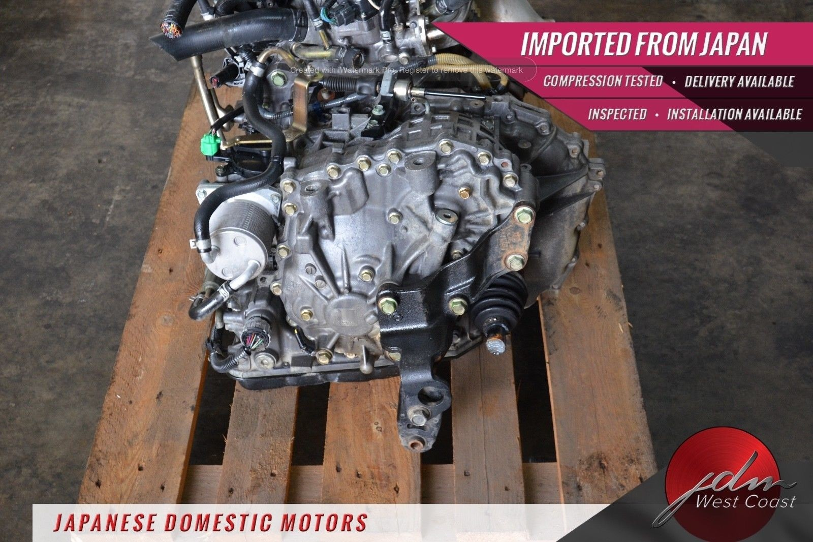 JDM Nissan Sentra Mr20de 07-08 CVT Automatic *Transmission ONLY* 2.0L 4CYL Mr20