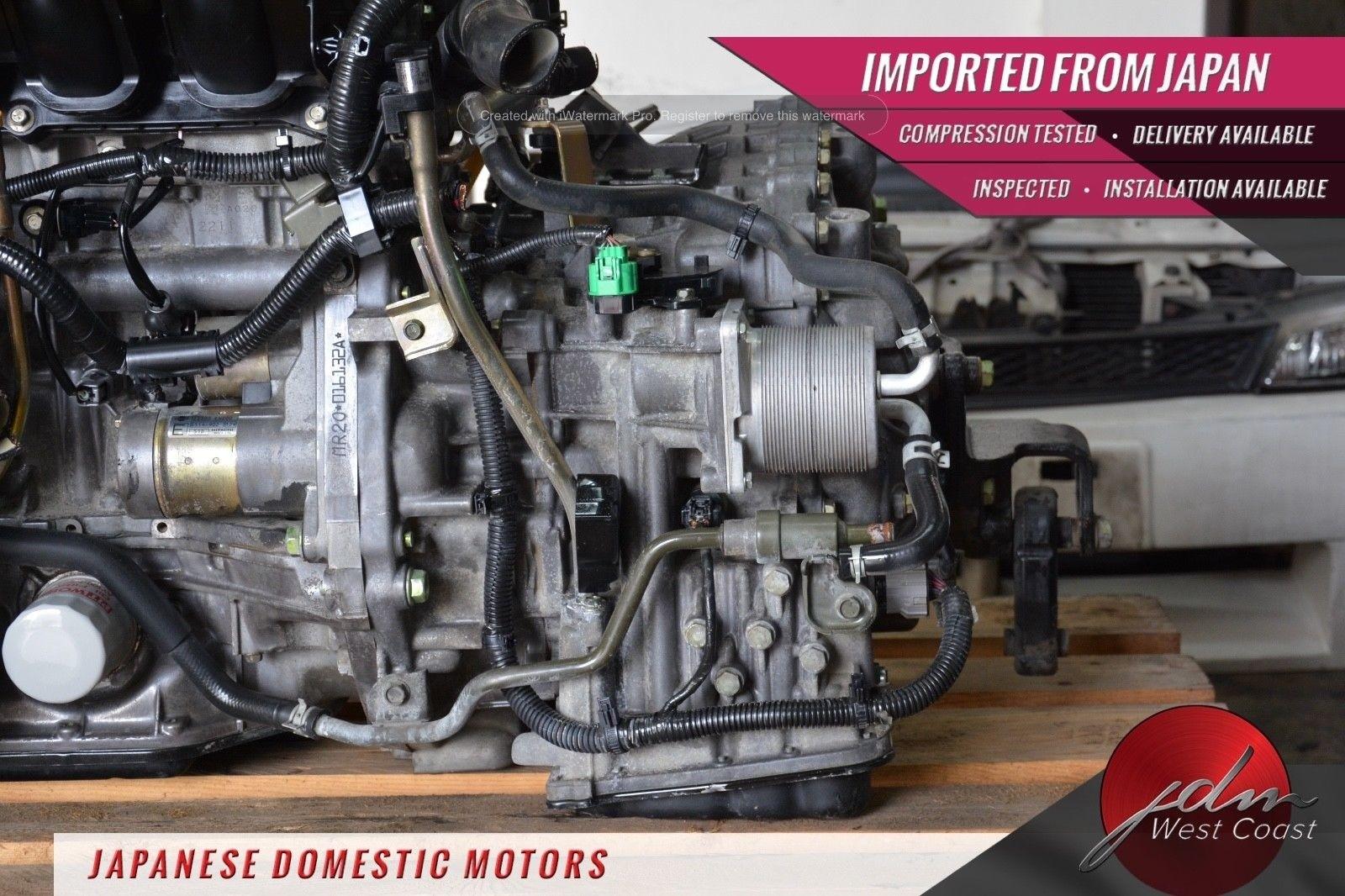 JDM Nissan Sentra Mr20de 07-08 CVT Automatic *Transmission ONLY* 2 0L 4CYL  Mr20