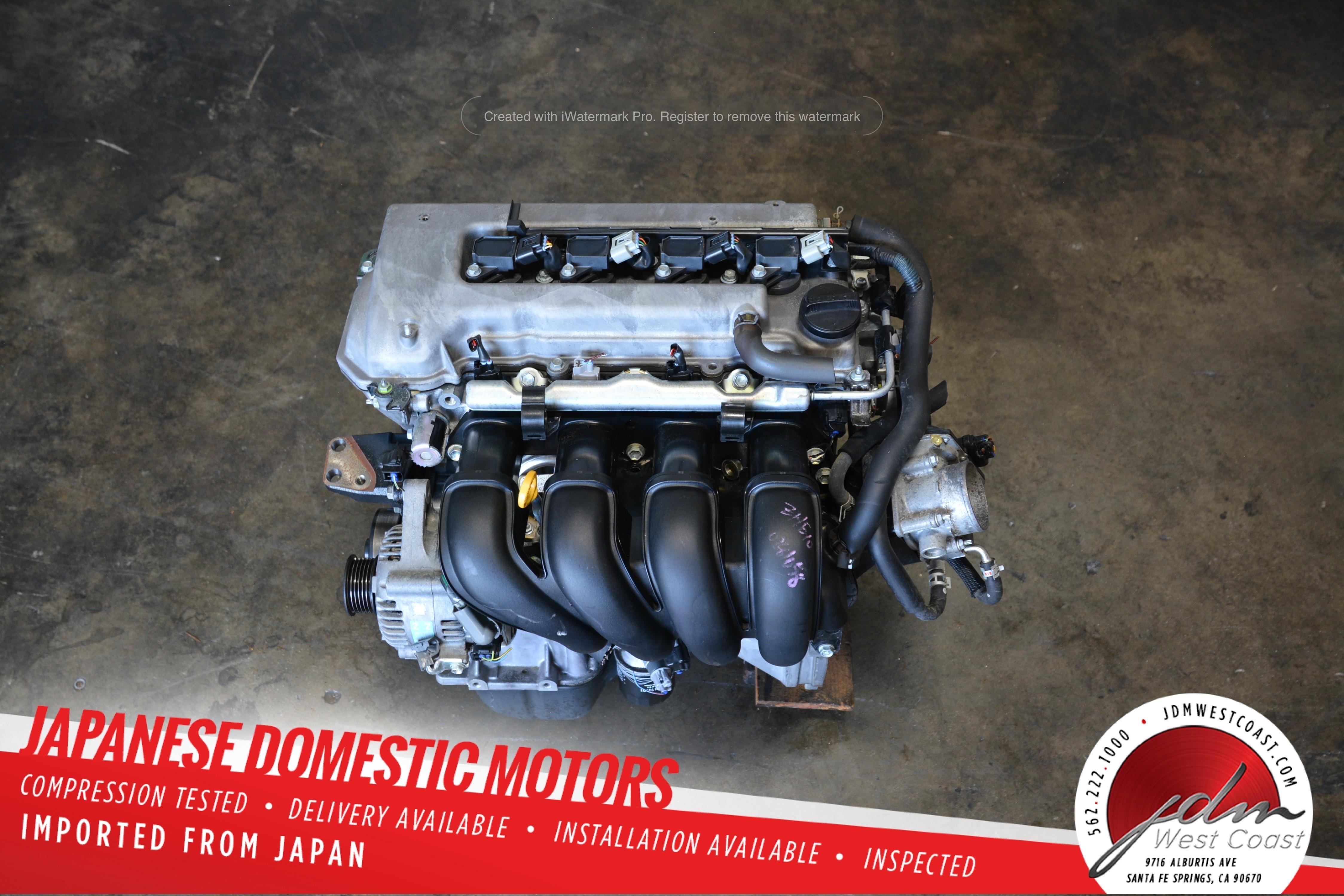 Jdm Toyota 1zzfe Engine 1 8l Vvt I 02 08 Corolla 1zz Matrix Mr2 Spyder Celica