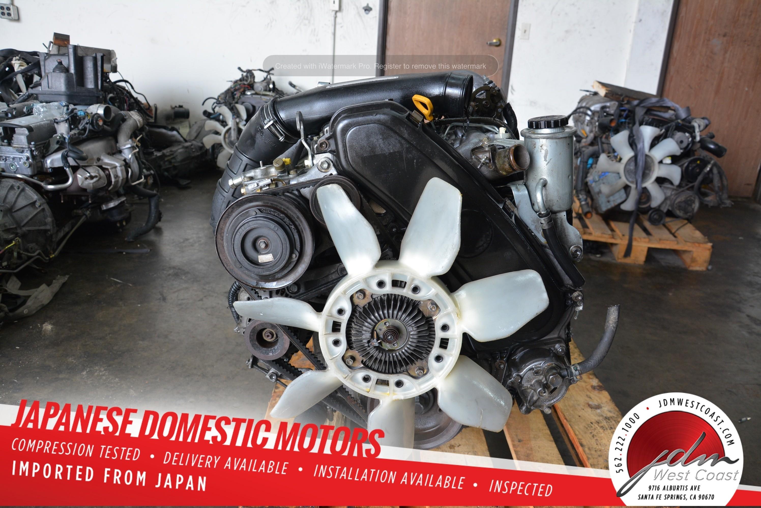 Jdm Toyota 1kz Hilux Surf 4runner 3 0l 1kzte Turbo Diesel