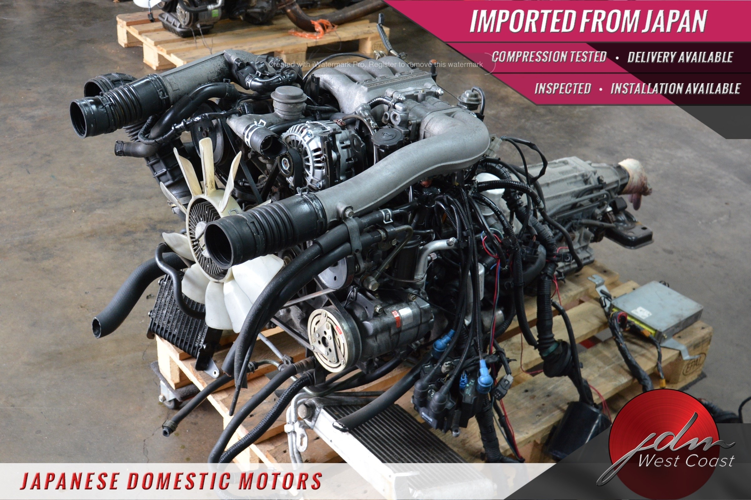 Jdm Mazda Rx-7 Engine 13B 1 3L Twin-Turbo FD3S 93-95 Rotary 5spd MT