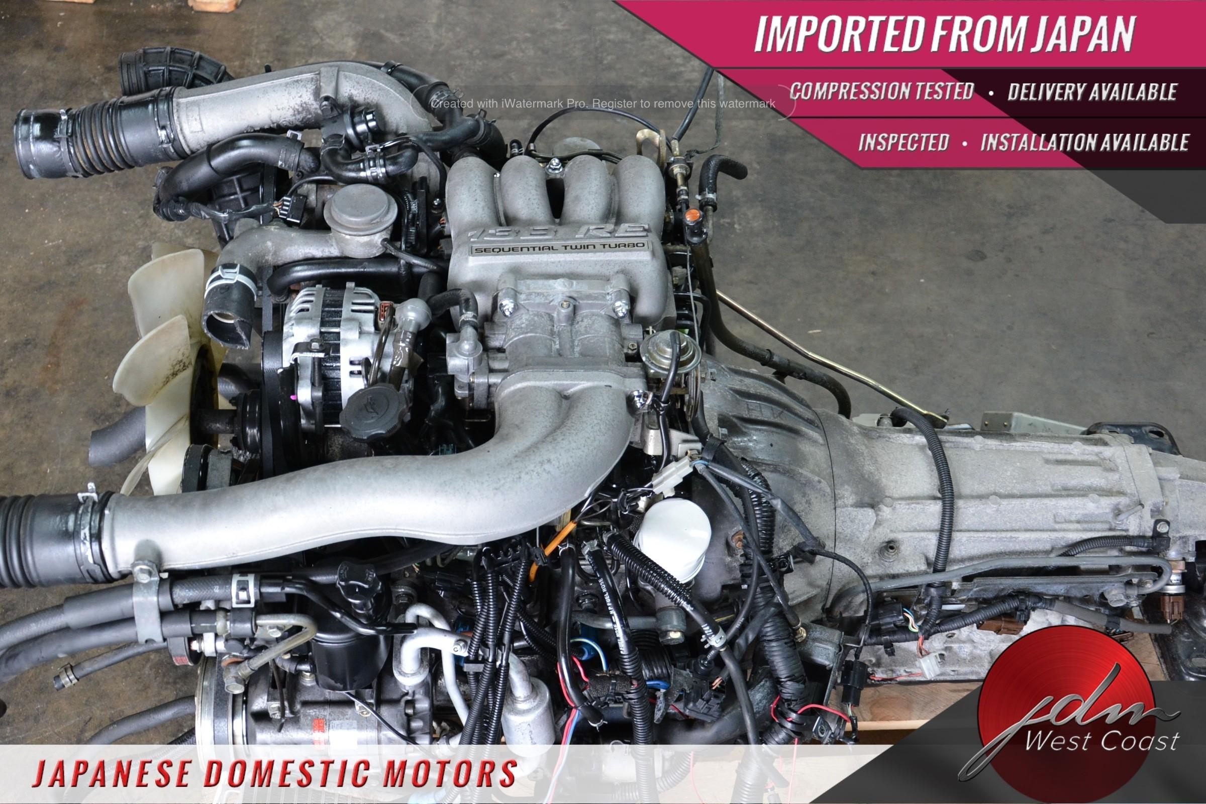 Jdm Mazda Rx-7 Engine 13B 1 3L Twin-Turbo FD3S 93-95 Rotary 5spd MT