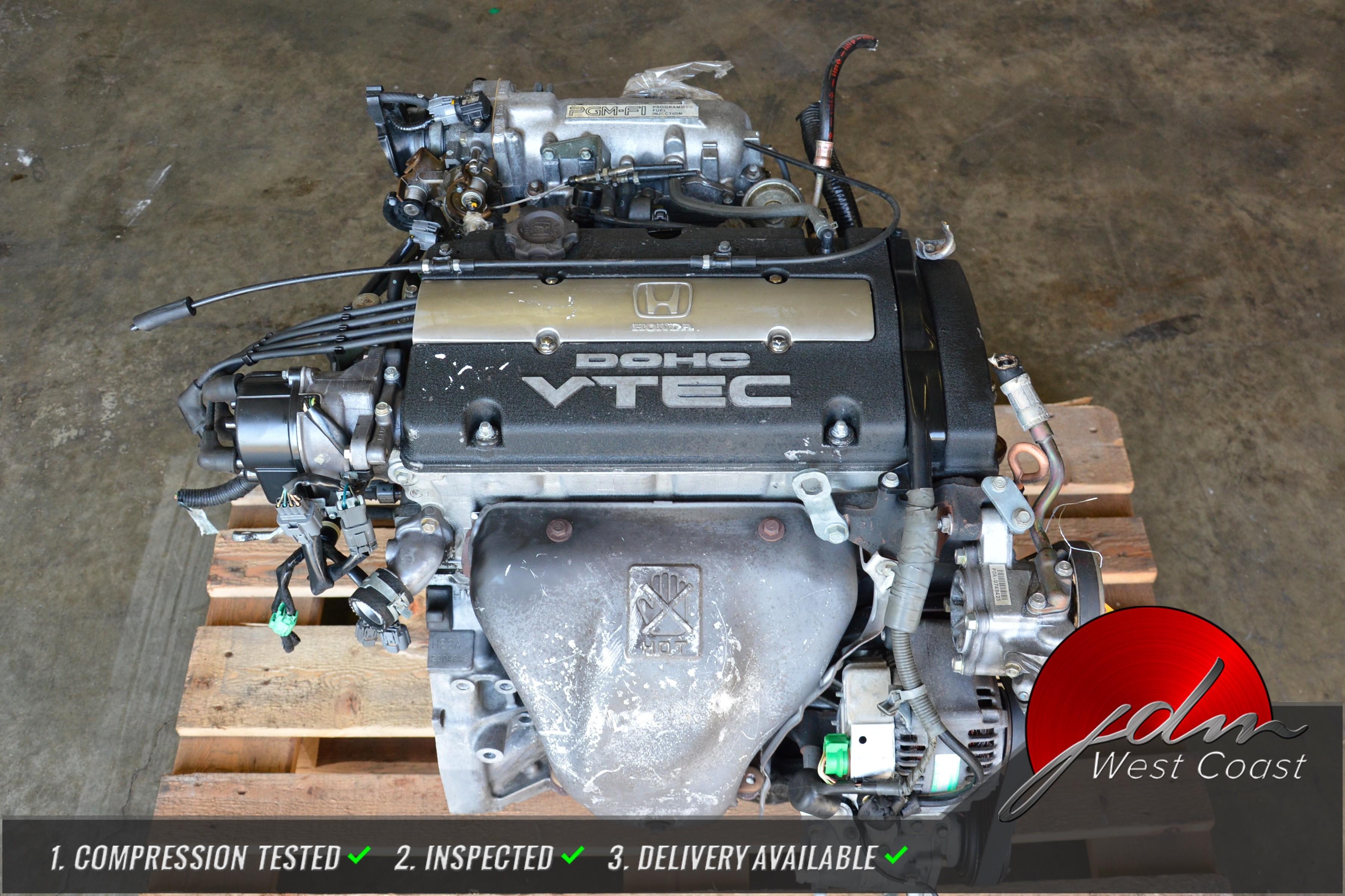 JDM H22A 92-95 HONDA PRELUDE 2.2L DOHC OBD1 VTEC ENGINE