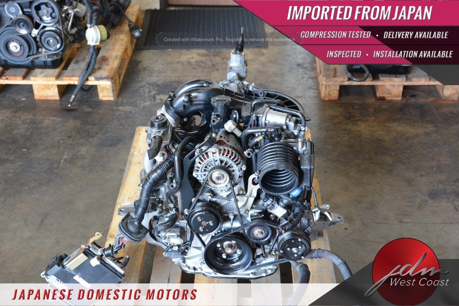 Jdm Mazda Rx8 13B 6port 03-08 Renesis 1.3L Rotary Engine 6spd MT Ecu