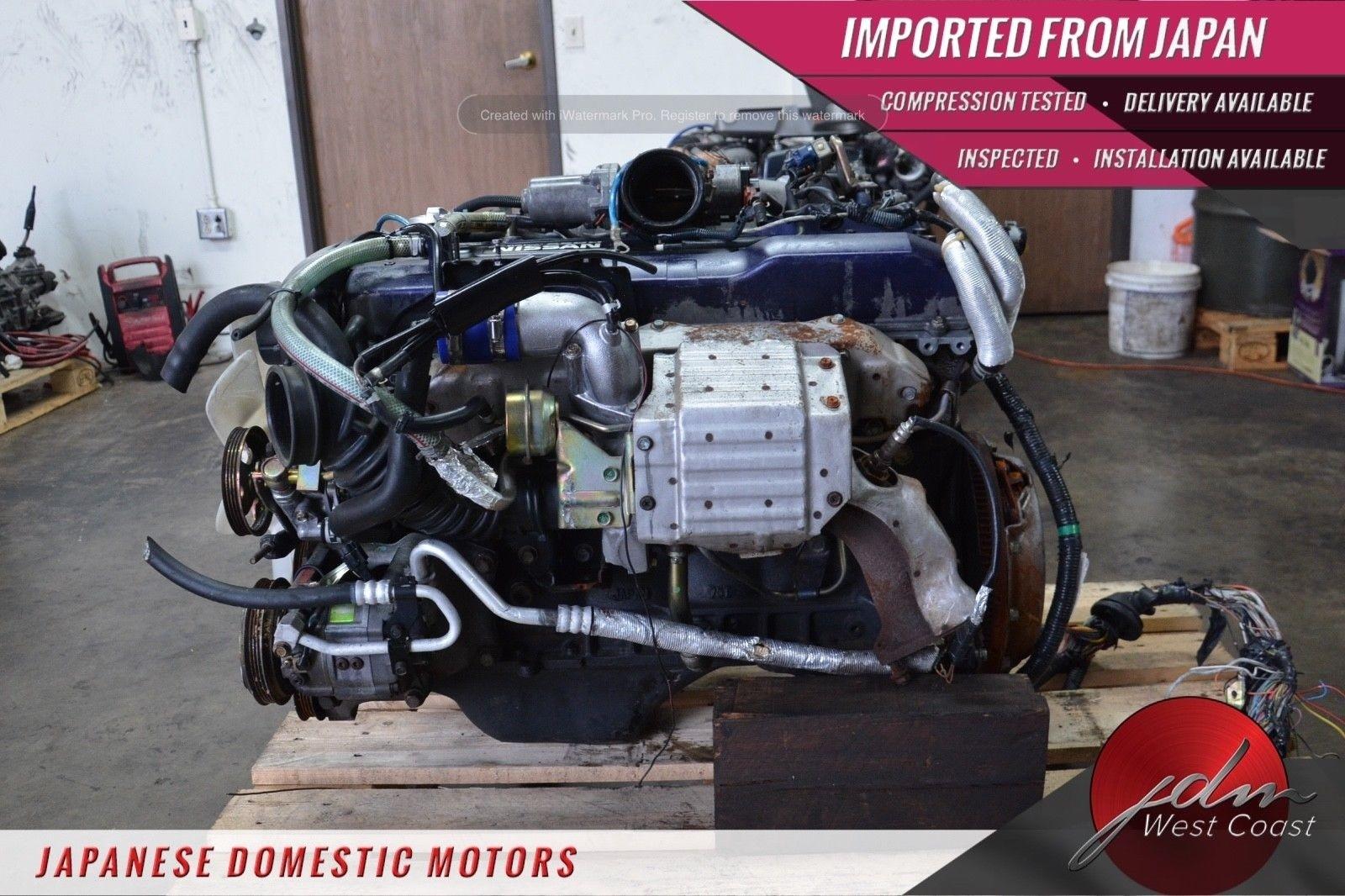Jdm Nissan Skyline Rb25det 2 5L Inline-Six Turbo R33 SERIES-1 5SPD MT ECU  WIRING