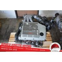 JDM 1999-03 LEXUS RX300 Toyota Highlander ENGINE VVTI V6 3.0L 1MZ 2WD SIENNA