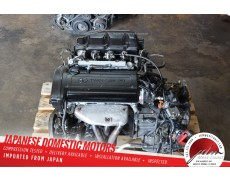 JDM TOYOTA 4AGE BLACKTOP 20V 1.6L CARINA AE111 COROLLA ENGINE FWD A/T TRANS TESTED✔