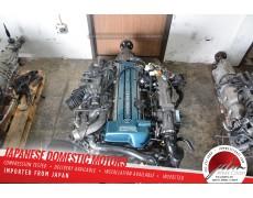 JDM 2JZGTE Toyota Aristo IS300 Engine 2JZ Twin-Turbo VVT-i 3.0L A/T Non-imm. ECU