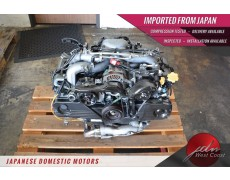 Jdm Subaru Impreza 2006-2011 Outback Legacy Forester Ej25 SOHC Avcs 2.5L Engine
