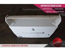 Jdm Mitsubishi Lancer Evolution VII 01-03 Trunk Boot Wing CT9NA OEM Spoiler