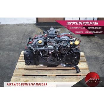 JDM Subaru EJ25 DOHC 98-99 Forester 2.5L Engine EJ25 Non-Avcs 96-99 Legacy