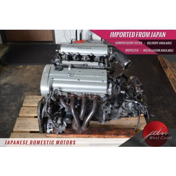 Jdm Toyota 4age 20 Valve SILVER-TOP Corolla Ae111 1.6L 5spd Manual Trans 4A-GE