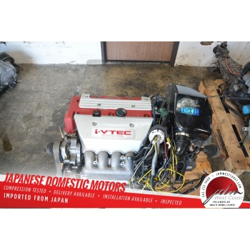 Jdm Honda K20A TYPE-R Engine 2.0L Civic EP3 I-Vtec Dohc 6Spd MT LSD axles 200HP