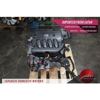JDM Nissan Versa Engine MR18DE 1.8L 2007-2012 Dohc 1.8L Mr18 4cyl.16-valve