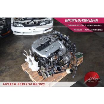 JDM Nissan RB25DET NEO Skyline R34 2.5L INLINE-6 TURBO ENGINE ECU TESTED✔VIDEO