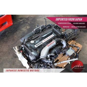 Jdm Nissan Skyline Rb26dett Engine 2.6 Twin-Turbo R32 R33 5spd MT Awd Ecu *VIDEO