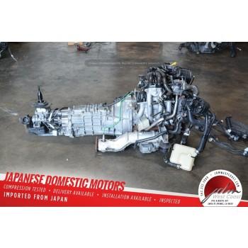 JDM 13B RENESIS ENGINE & 6 SPD MANUAL TRANS MAZDA RX8 08-11 1.3L