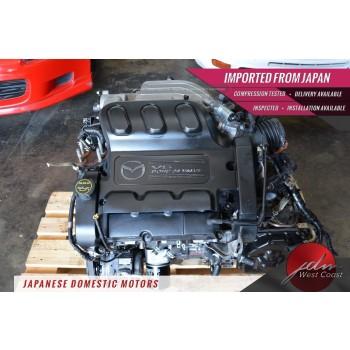 Jdm Mazda Engine AJ 3.0L V6 MPV 2002-2006 Dohc Automatic Transmission