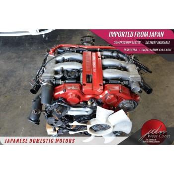 Jdm Nissan 300zx Vg30dett Z32 1990-1995 3.0L V6 Twin-Turbo 5spd Manual trans