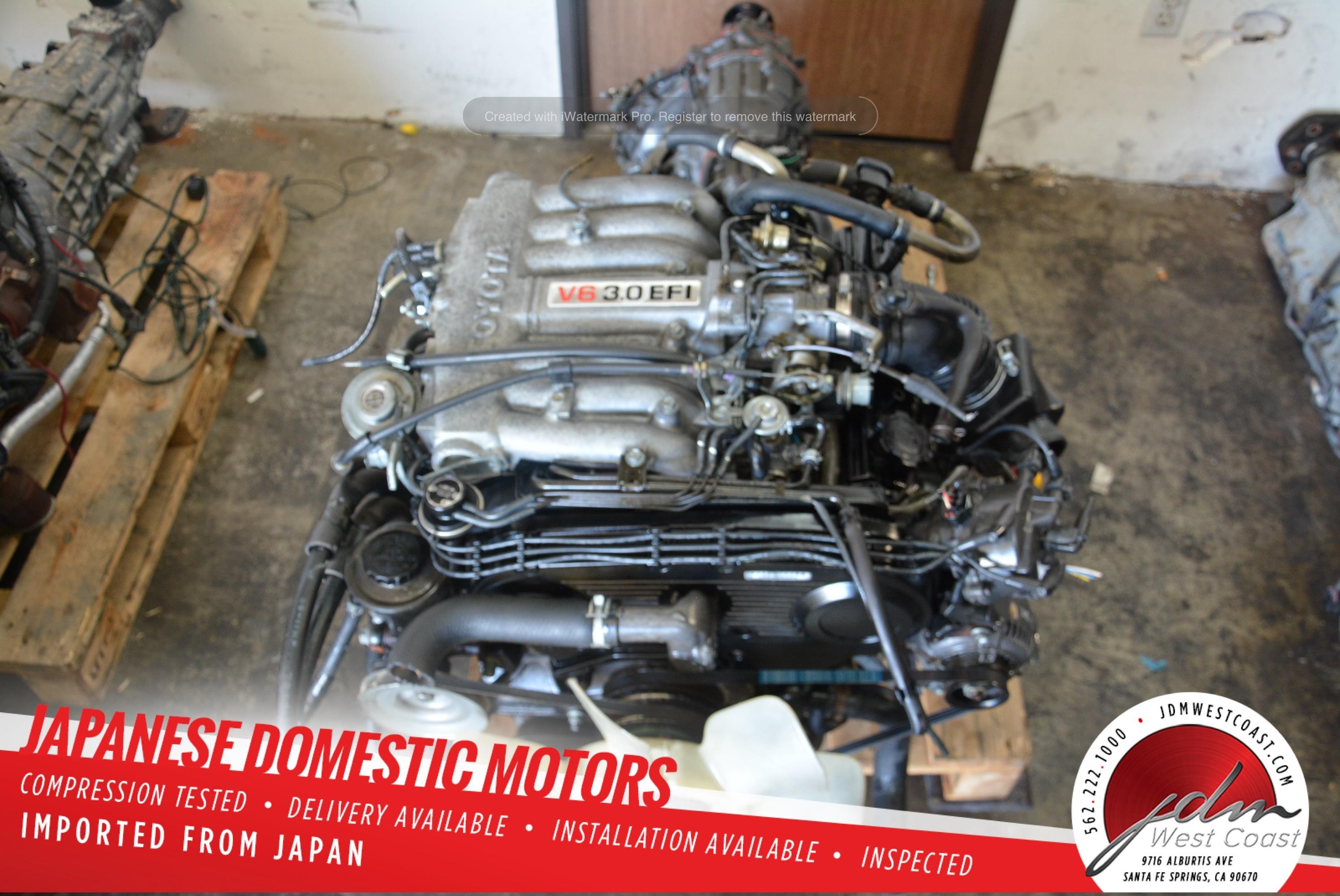 Jdm Toyota 4runner 3vze 1989 1995 3 0l V6 T100 4runner Pickup Engine Only Ecu